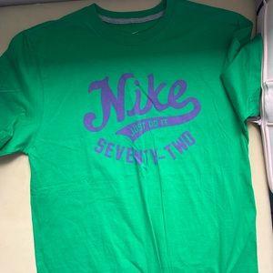 Nike green large shirt